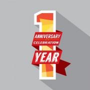 1 Year Anniversary Image