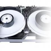 Inside of VHS Tape