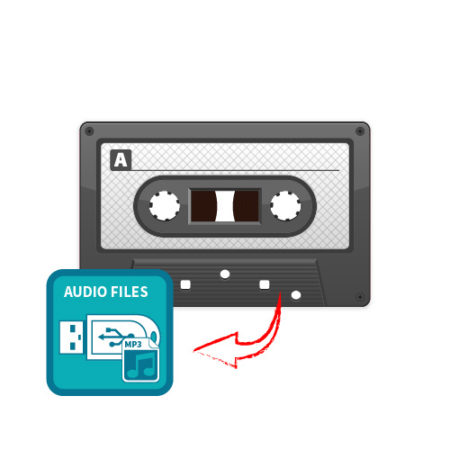Audio Tape to Flash Drive